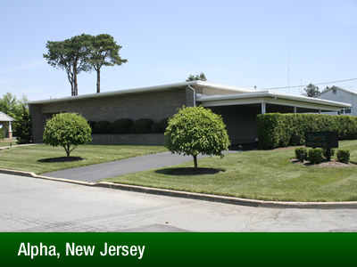 Alpha, New Jersey Location