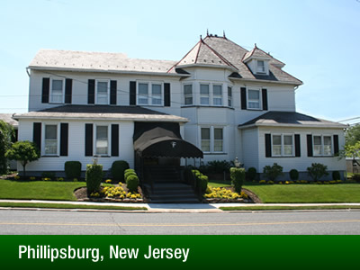Phillipsburg, New Jersey Location